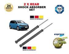 Für Volkswagen VW Touran 2003 > 2 X Hinten Links+Rechts Federbein Stoßdämpfer