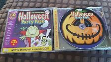 Halloween Party Pack CD Music & Printable Pages, invites games recipes and more!