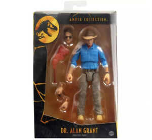 Jurassic Park Amber Collection Alan Grant - PRE ORDER