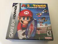 Mario Tennis: Power Tour (Nintendo Game Boy Advance, 2005) GBA NEW