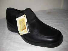 Spring Step Black Leather Comfortable Shoes Size 39 / 8 - 8.5  Made In PORTUGAL