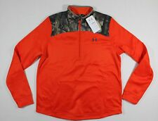 NWT $65 UNDER ARMOUR XL Caliber 1/2 Zip Women's Hunting L/S Shirt Jacket 1260163