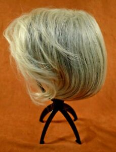 Luxhair Now - Silver Grey Smooth Wave Bob - High Fashion Wig (New in Box)