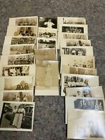 Lot of 25 RPPC Real Photo Postcards-Early-Groups-Lot B