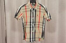 BURBERRY  TODDLER CHECK PRINT TOP SHIRT 6Y