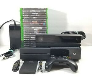 Xbox One Console 1540 Lot Kinect 16 Games 1TB External HD