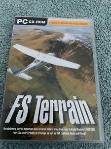 FS Terrain (Add on for FS 2002/2004) (PC CD
