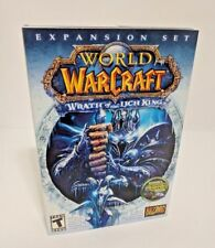 World of Warcraft WOW Wrath of the Lich King Expansion Set PC/MAC w/ Box MINT