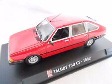 TALBOT 150 GT  DE 1982 1/43ème