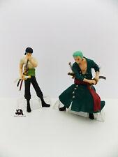 Lot 2 Figurines Hachette ONE PIECE Roronoa Zoro Chasseur de Pirates Manga