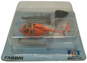 Italeri Helicopter Hughes MD 500 Greenpeace 1/100 Diecast