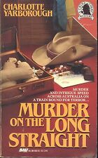 Murder on the Long Straight by Charlotte Yarborough (1991, Paperback)