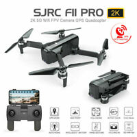 SJRC F11 Pro Drone Foldable 2K GPS 5G WiFi FPV HD Camera Brushless RC Quadcopte