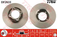 Bremsscheibe (2 Stück) - TRW DF2633
