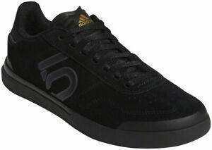 Five Ten Women's Sleuth DLX Flat Shoes | Core Black/Grey Six/Matte Gold | 7.5