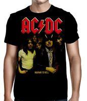 AC/DC Highway to Hell M, L, XL, 2XL Black T-Shirt