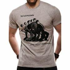Mens Madness One Step Beyond Grey T-Shirt - Unisex Retro Music Tee