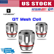 VAPORESSO NRG GT Core Replacement Coil GT Mesh 0.18ohm (Pack of 3) US Free Ship