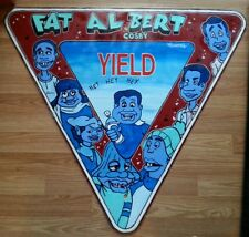 33 x 33 real metal yield road sign fat albert cosby kids painting shortiez ink
