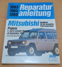 MITSUBISHI Pajero 2,2 2,5 2,6 3,0 Diesel Benziner 1982 Reparaturanleitung B1063