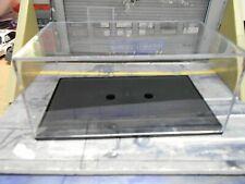 6x  LEERBOX Box Vitrine Show case Cararama c.a 13,5 x 8 x 6,2 cm klar 1:43