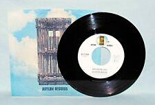 JACKSON BROWNE  Doctor My Eyes  45 RPM  ASYLUM 11004  NM/UNPLAYED