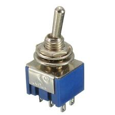 1x Miniature Toggle DIY Circuit Project DPDT ON-ON 6A 125V Lever Switch