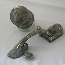 Egyptian Revival Front Door Pull & Knocker
