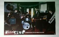THE CLICK FIVE GREETINGS FROM IMRI BAND PHOTO DBL SIDED 11x17 MUSIC PROMO POSTER