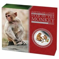 2016 Australian Lunar Series II Year of the Monkey 1 oz. Silver Proof Coin
