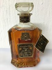 Canadian Whisky Hiram Walker Canadian Club Classic Aged 12 Years 75cl 40° 1973