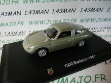 IT62M Voiture 1/43 Hachette ABARTH collection : FIAT 1000 Bialbero grise 1961