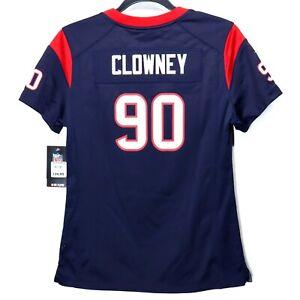 NEW Nike Womens Houston Texans Jadeveon Clowney 90 Football Jersey Size Small