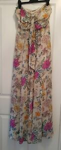 H&M long maxi dress with halter neck size 6. Excellent condition only worn twice