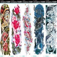 1/5 Pcs US man women Tattoo Art Sticker Waterproof Sleeve Temporary Arm Body