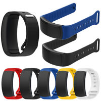 Soft Silicone Replacement Band Sport Strap For Samsung Gear Fit2 Pro Fitness US