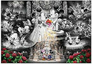 Tenyo Puzzle Disney Mickey & Minnie Forever Promise Wedding Dream Frost Art P...