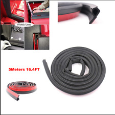 16FT/5M Pickup Truck Bed Tailgate Rubber Seal Rubber Strip Universal Dustproof