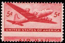 C32, Mint NH 5¢ Large Misperf Error Airmail Stamp! - Stuart Katz
