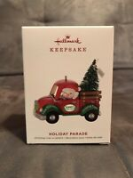 2019 Hallmark HOLIDAY PARADE Keepsake Ornament #1 in Series