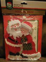 """Vintage Kurt Adler """"Our First Christmas Together"""" Large Wooden Ornament Sign"""