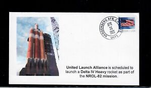Norwood Cachet Delta IV NROL-82 Launch Cover - Only 5 Covers Made