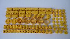 ►►►► LEGO VRAC / Lot de 90 pièces Yellow round ( 6042, 3941, 4740, 4032...)