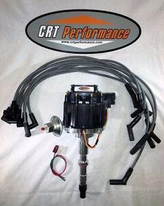 1967-90 AMC/JEEP V8 290,304,343,360,390,401 HEI DISTRIBUTOR + 8mm USA Plug Wires