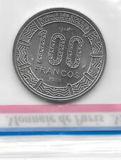 GUINEE EQUATORIALE  RARE ESSAI DU 100 FRANCS 1985  FDC