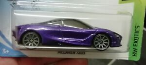 Hot wheels McLAREN 720s purple new without package