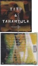 CD--TITO & TARANTULA--    TARANTISM