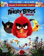 ANGRY BIRDS Animation Movie (Blu Ray) (3D+2D) / Region A **