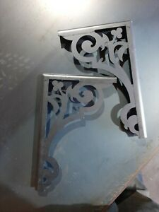 Laser Cut Steel Shelf Brackets *PAIR* 92 styles ANY SIZE
