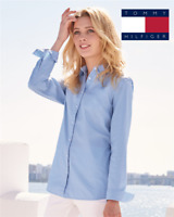 Tommy Hilfiger - Women's Capote End-on-End Chambray Shirt - 13H4377
